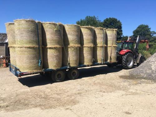 Hay coming to the Barn